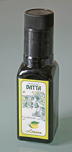 Condimento a base di Limone Olio Extravergine di Oliva
